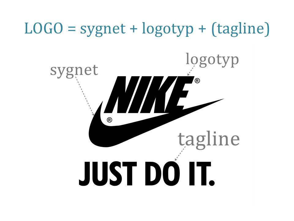 LOGO = sygnet + logotyp + (tagline)