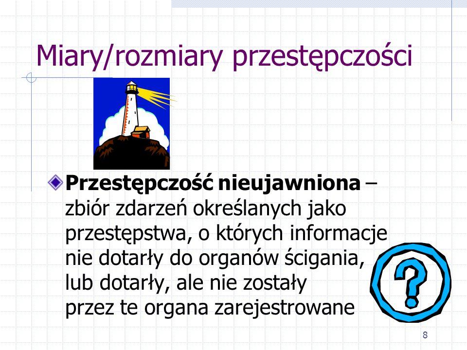 """29 Kryminogeneza """"Kryminogeneza to wpleciony w życie człowieka proces, którego finałem jest popełnienie czynu zabronionego."""