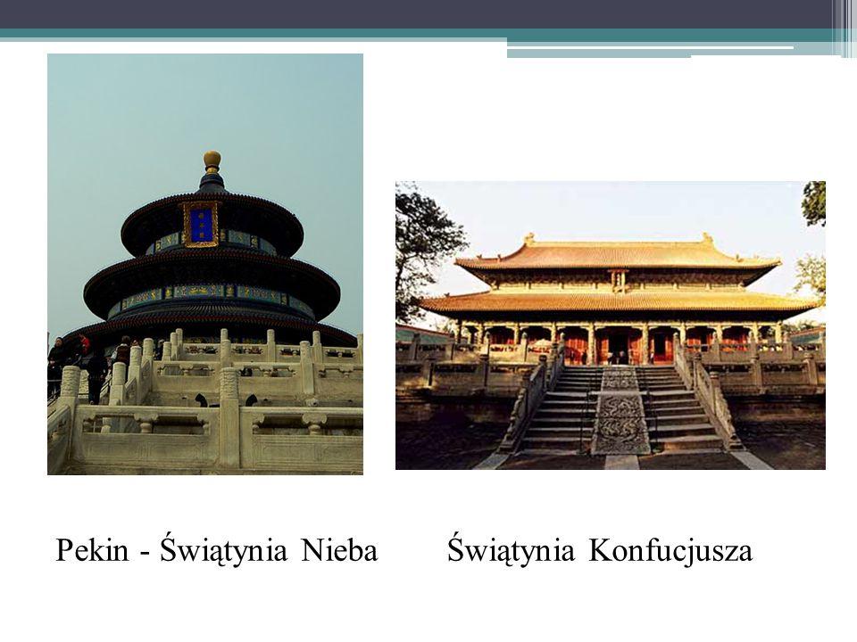 Pekin - Świątynia Nieba Świątynia Konfucjusza