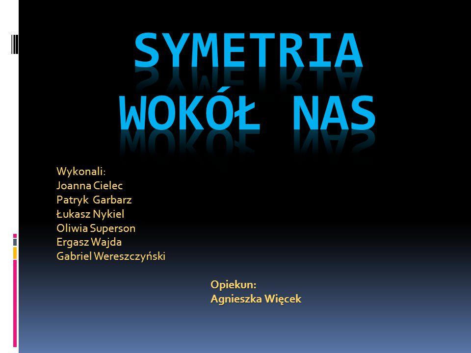 Symetria osiowa środkowa