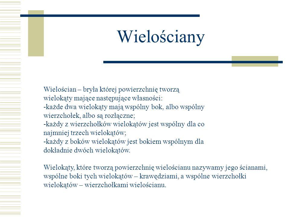 """Plan prezentacji  Wielościany foremne  Graniastosłupy (siatki)  Ostrosłupy  Bryły obrotowe  Wiersz pt.""""Liczba Pi"""" W. Szymborskiej"""