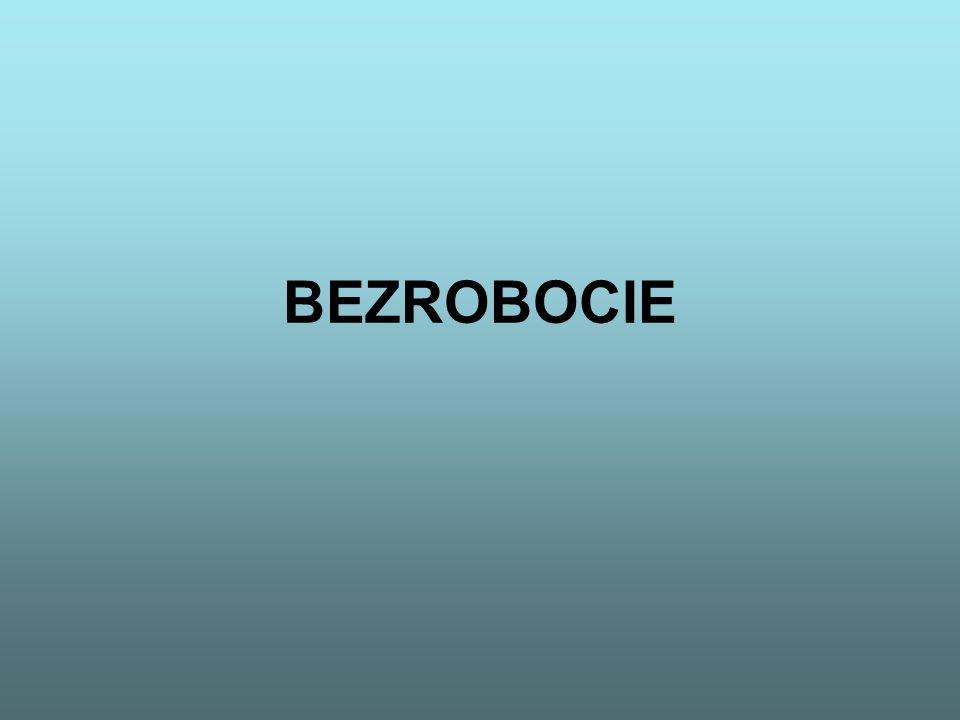 POJĘCIE BEZROBOCIA Bezrobocie to zjawisko polegające na tym, że część ludności w wieku produkcyjnym (jako granice wieku produkcyjnego przyjmuje się w Polsce 18-60 lat dla kobiet i 18-65 lata dla mężczyzn), zdolnej do pracy i gotowej do podjęcia pracy odpowiadającej typowym warunkom występującym w gospodarce, pozostaje bez pracy pomimo podjęcia poszukiwań.