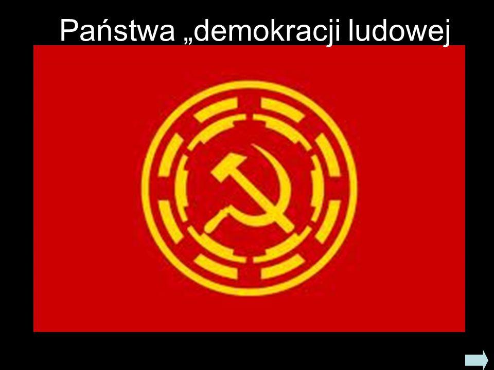 """Państwa """"demokracji ludowej"""