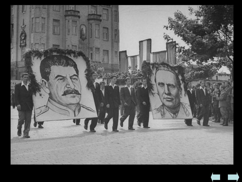  W XI 1945 odbyły się wybory parlamentarne - zwyciężył w nich komunistyczny Front Narodowy, który uzyskał 90% głosów i powołał nowy rząd  W I 1946 u