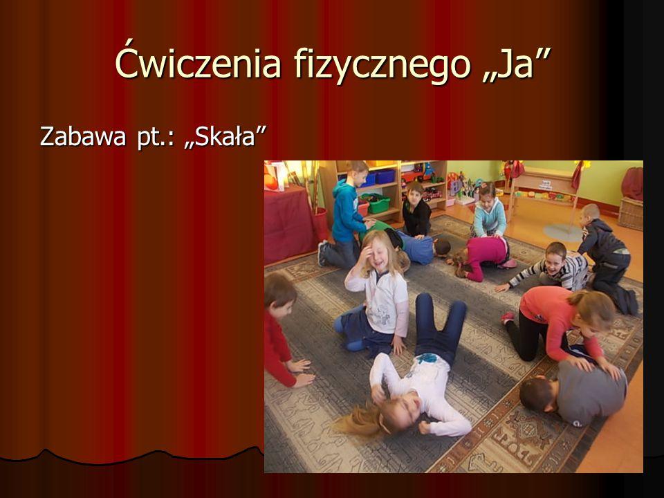 """Ćwiczenia fizycznego """"Ja Zabawa pt.: """"Skała"""