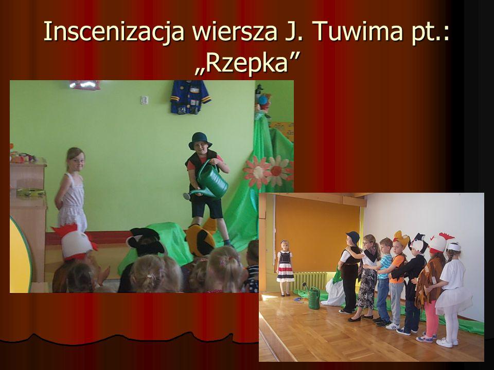 """Inscenizacja wiersza J. Tuwima pt.: """"Rzepka"""""""