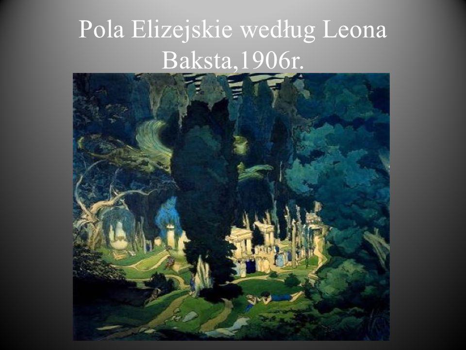 Pola Elizejskie. Elizjum (także Pola Elizejskie) – w mitologii greckiej część Hadesu – podziemnego świata, przeznaczona dla dusz dobrych ludzi. Części