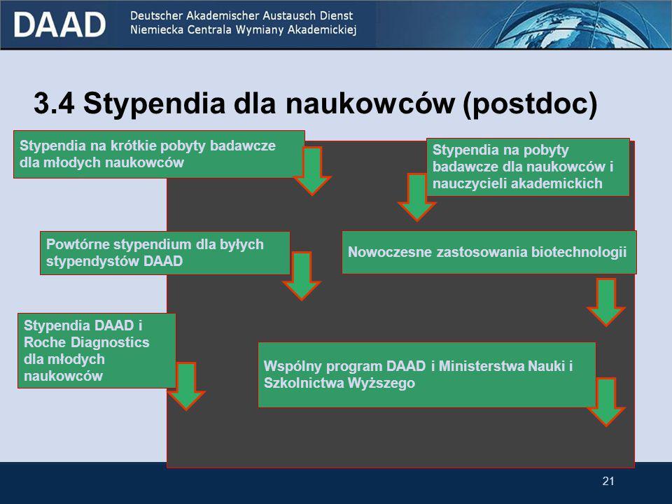Stypendia na pobyty badawcze w Niemczech dla doktorantów przynależących do niemieckiej mniejszości narodowej w Polsce Celprzeprowadzenie prac badawczy