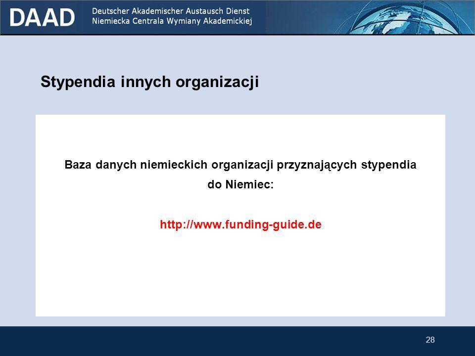 Wspólny program DAAD i Ministerstwa Nauki i Szkolnictwa Wyższego (MNiSW) Celwspieranie współpracy między polskimi i niemieckimi grupami naukowców Czas trwaniamaksymalnie 2 lata Wysokość stypendium ustalana odpowiednio do potrzeb Kandydacigrupy naukowców z tytułem naukowym co najmniej doktora Limit wieku kandydatów nie ma Terminy składania wniosków 31 lipca (finansowanie projektów od pierwszego stycznia kolejnego roku).