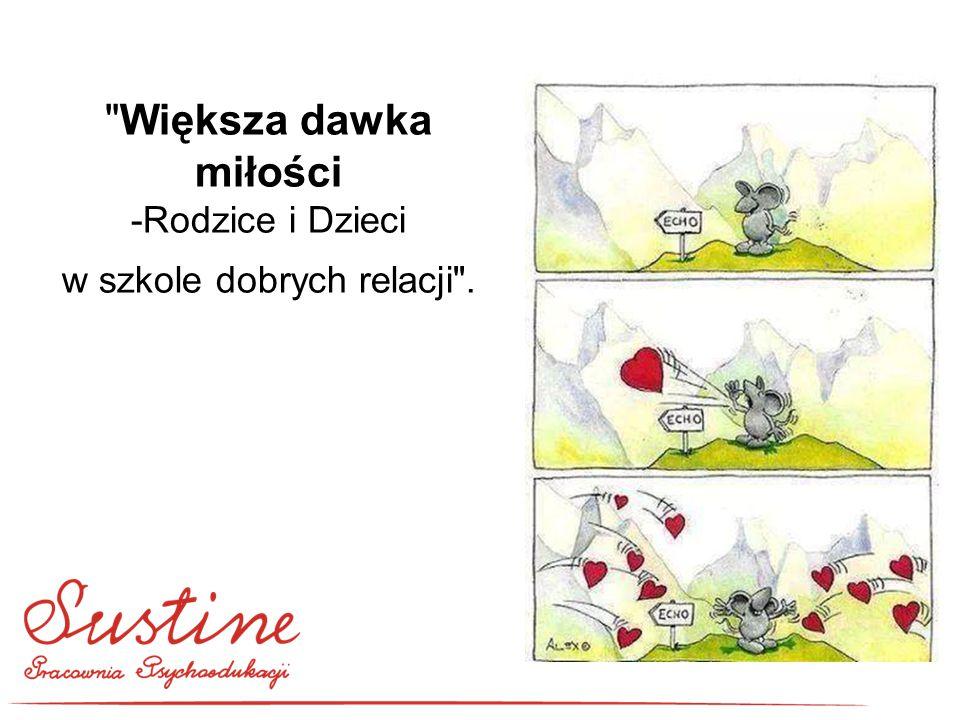 PRACOWNIA PSYCHOEDUKACJI SUSTINE ul.Słomiana 23/18 31-536 KRAKÓW tel.