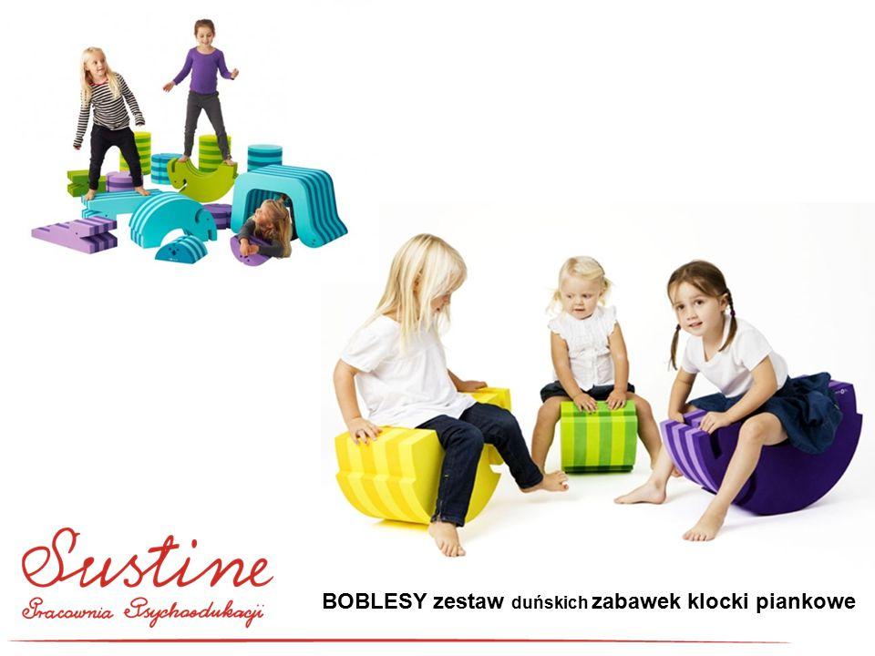 BOBLESY zestaw duńskich zabawek klocki piankowe