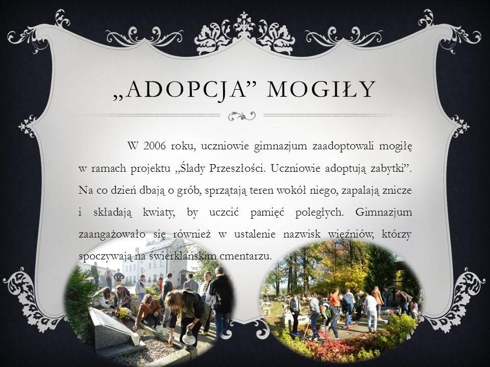 Co roku, 18 stycznia, w rocznicę Marszu Śmierci, przedstawiciele władz samorządowych gminy Świerklany, parafii św.