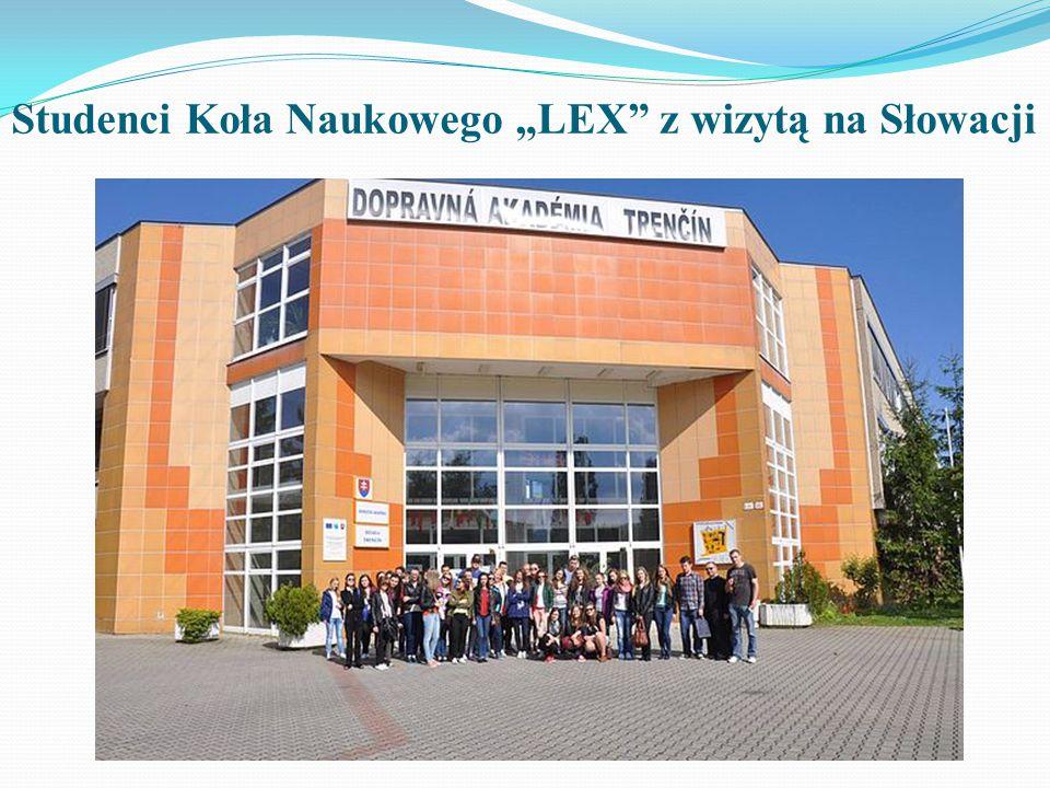 """Kilka wydarzeń z życia Studenckiego Koła Naukowego """"LEX"""""""