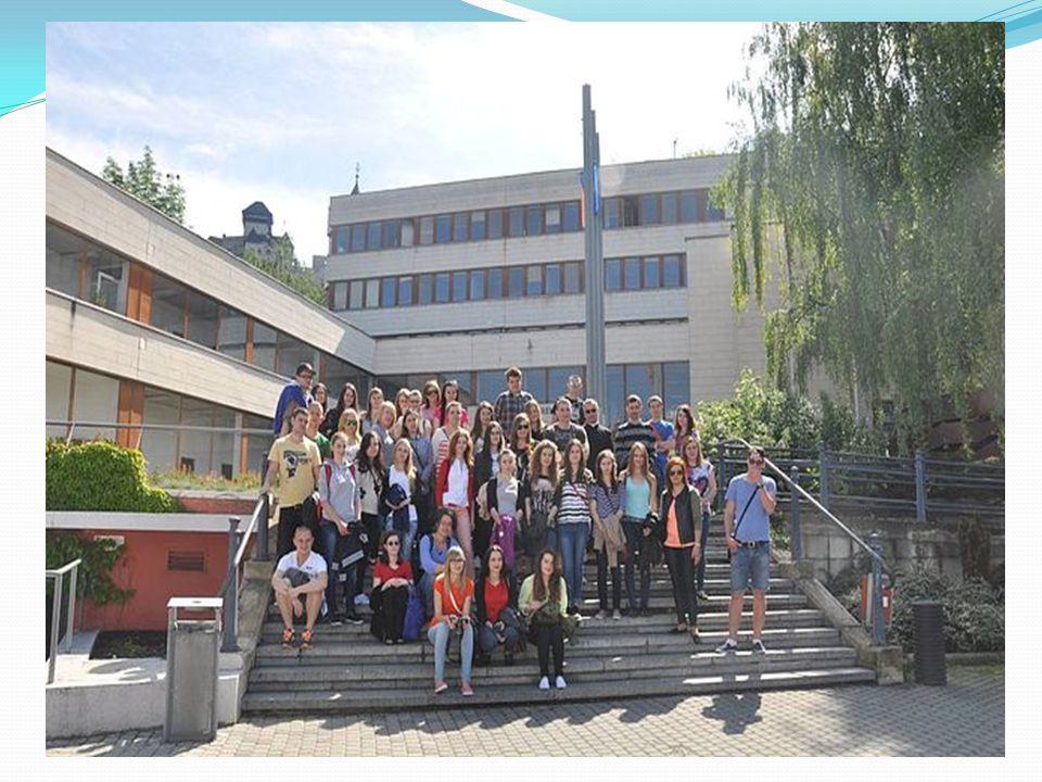 Młodzież studiująca Administrację w PWSZ w Tarnowie ( w tym przede wszystkim Członkowie naszego Koła Naukowego LEX) w dniach od 7 do 8 maja 2014 roku