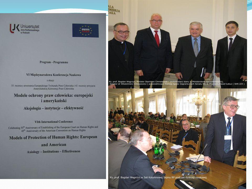 10 kwietnia nasz opiekun – ks. dr hab. Bogdan Węgrzyn i równocześnie prof. nadzwyczajny PWSZ oraz sędzia audytor Sądu Diecezjalnego w Tarnowie wygłosi