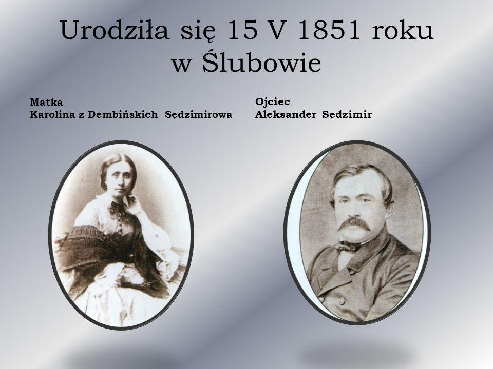 Wkrótce wyjechała do Warszawy, oddaliła się od swojej, krytycznie do niej nastawionej rodziny.