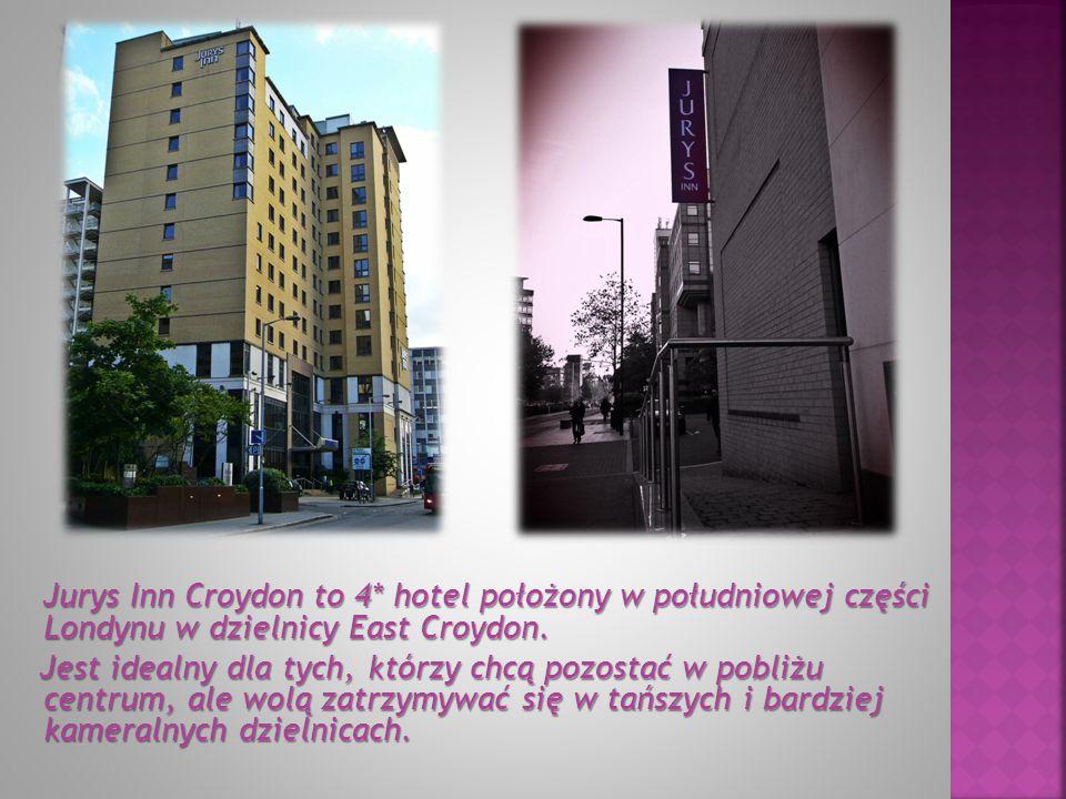 Jurys Inn Croydon to 4* hotel położony w południowej części Londynu w dzielnicy East Croydon.