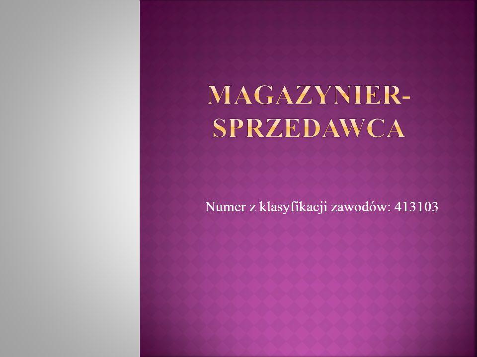 Praca magazyniera polega na prowadzeniu magazynu, czyli przyjmowaniu, przechowywaniu i wydawaniu przedmiotów, materiałów i surowców.