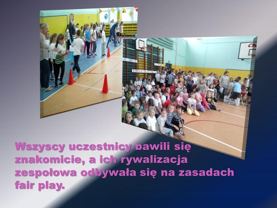 Wszyscy uczestnicy bawili się znakomicie, a ich rywalizacja zespołowa odbywała się na zasadach fair play.