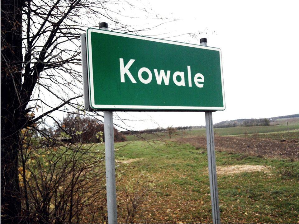 Kowale ( Seeberg ) - wieś położona w południowej części gminy, na południowy wschód od Kołodziej.
