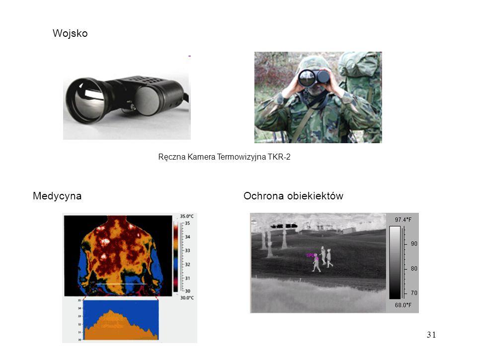 31 Wojsko Ręczna Kamera Termowizyjna TKR-2 MedycynaOchrona obiekiektów