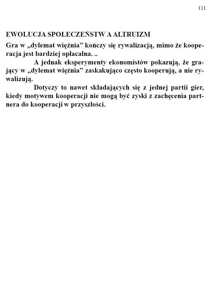 110 MATRIKSOWY TURNIEJ CD. Wygrała STRATEGIA WET ZA WET (ang.