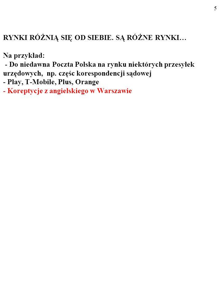 95 Oligopol i dylemat więźnia DużaMała Duża(a) 3,5 3,5(b) 5 3 Mała(c) 3 5 (d) 4 4 Produkcja firmy B Produkcja firmy A