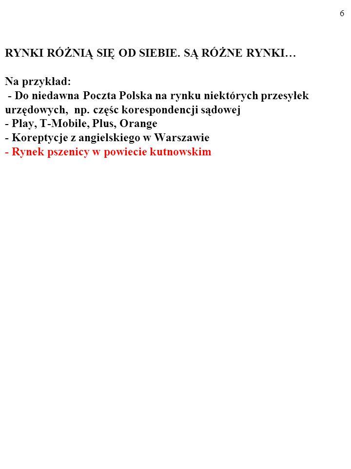 96 Oligopol i dylemat więźnia DużaMała Duża(a) 3,5 3,5(b) 5 3 Mała (c) 3 5 (d) 4 4 Produkcja firmy B Produkcja firmy A