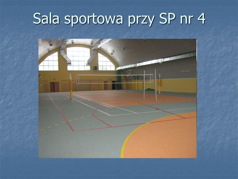 Sala sportowa przy SP nr 4