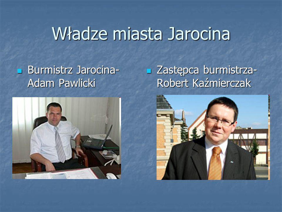 Wywiad z zastępcą burmistrza- Robertem Kazimierczakiem W ciągu ostatnich dwudziestu lat najbardziej zasłużonymi ludźmi dla Jarocina byli burmistrzowie.
