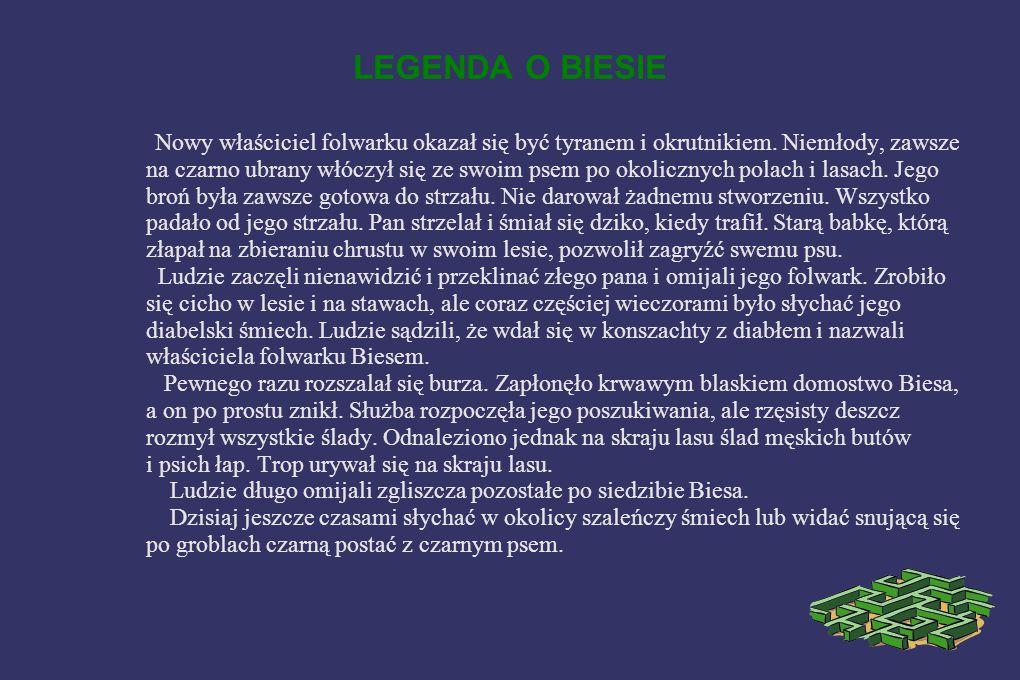 Marsz do Biesa Bies to nazwa folwarczku pochodząca od nazwiska właściciela, który w Żorach prowadził karczmę i zaliczał się do bogatszych mieszczan.