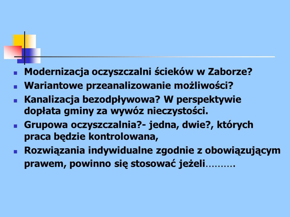 Polska rzeczywistość Istnieją w Polskiej rzeczywistości małe (do 10000 m 3 /d) oczyszczalnie ścieków zaprojektowane w technologii z usuwaniem związków azotu i fosforu, ale w czasie kilkuletniej eksploatacji nie uzyskuje się w tych obiektach wysokiej efektywności usuwania tej grupy zanieczyszczeń.