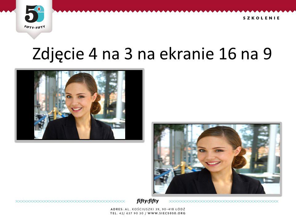 Zdjęcie 4 na 3 na ekranie 16 na 9