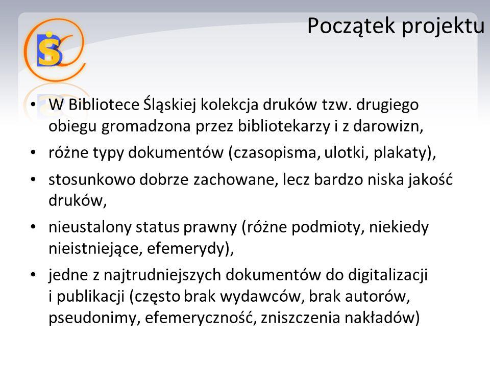 W Bibliotece Śląskiej kolekcja druków tzw.