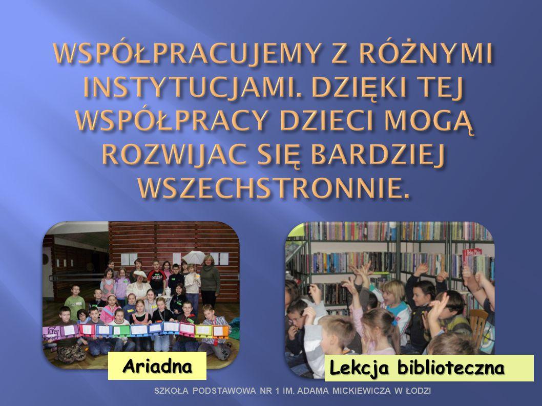 Ariadna Lekcja biblioteczna