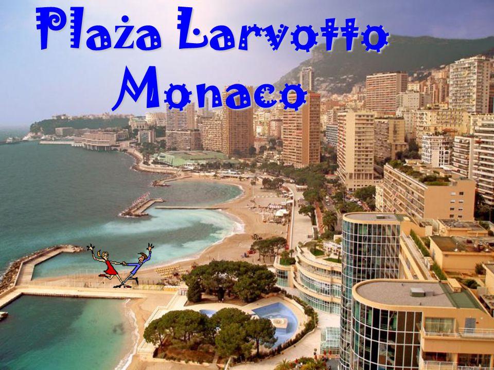 Plaża Larvotto Monaco