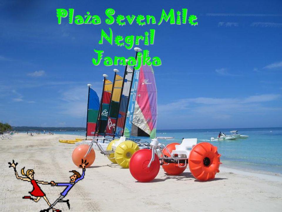 Plaża Seven Mile Negril Jamajka