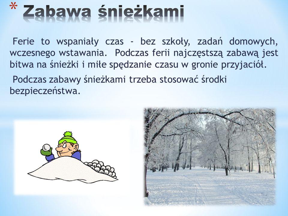  Podczas bitwy na śnieżki trzeba zwrócić uwagę czy inni mają ochotę, by uczestniczyć w zabawie.