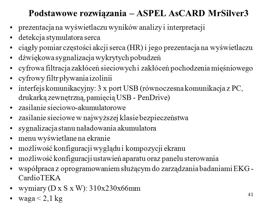 42 Literatura: 1.Bronzino J.D.