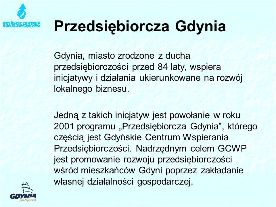 Przedsiębiorcza Gdynia Gdynia, miasto zrodzone z ducha przedsiębiorczości przed 84 laty, wspiera inicjatywy i działania ukierunkowane na rozwój lokalnego biznesu.