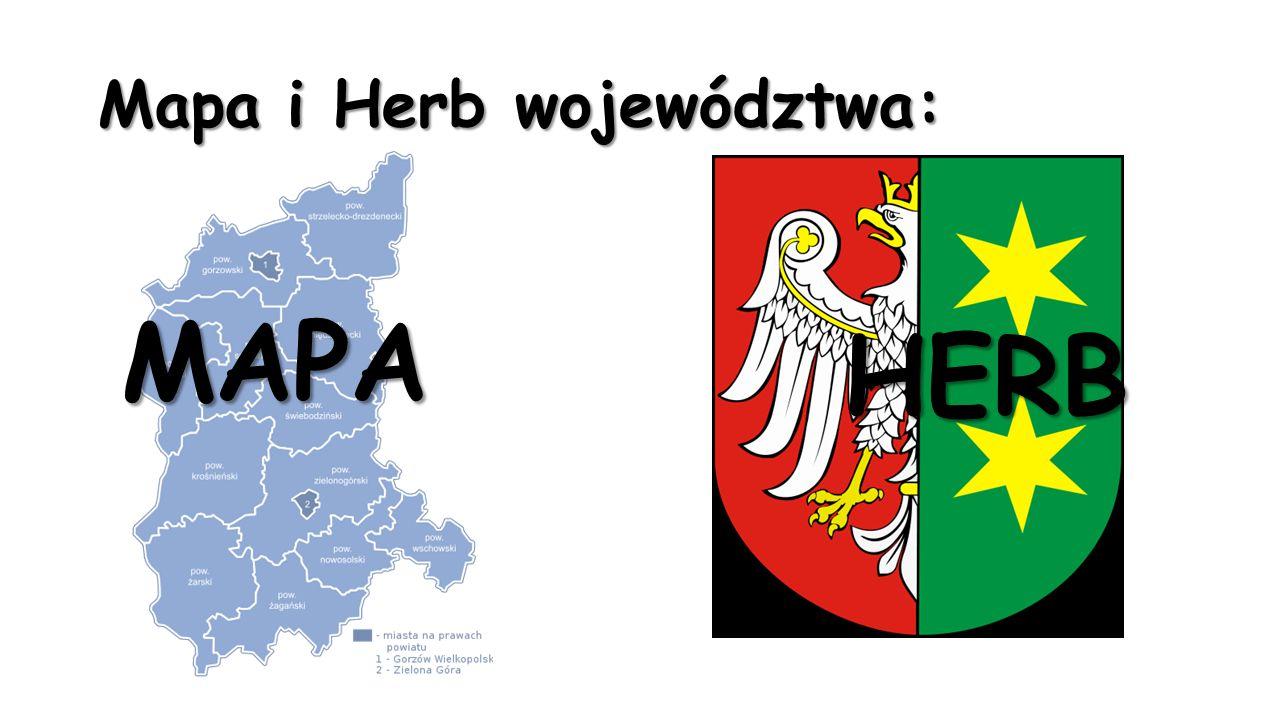 Mapa i Herb województwa: MAPA HERB
