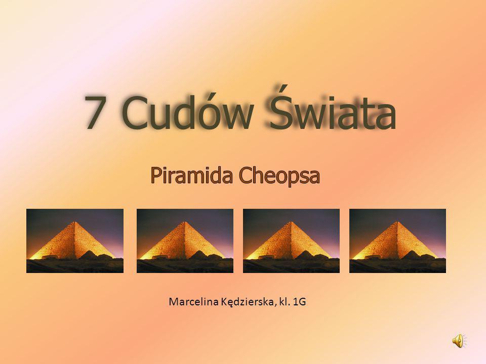Spis treści Wielka Piramida Konstrukcja piramidy Konstrukcji ciąg dalszy Dane techniczne Szukajcie, a znajdziecie… Piramida od strony matematycznej Tajemnice – Piramida Cheopsa.