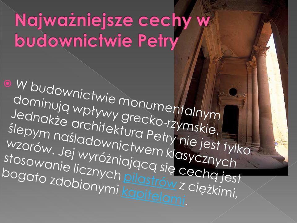  Petra była miastem zamieszkałych przez Nabetejczyków.