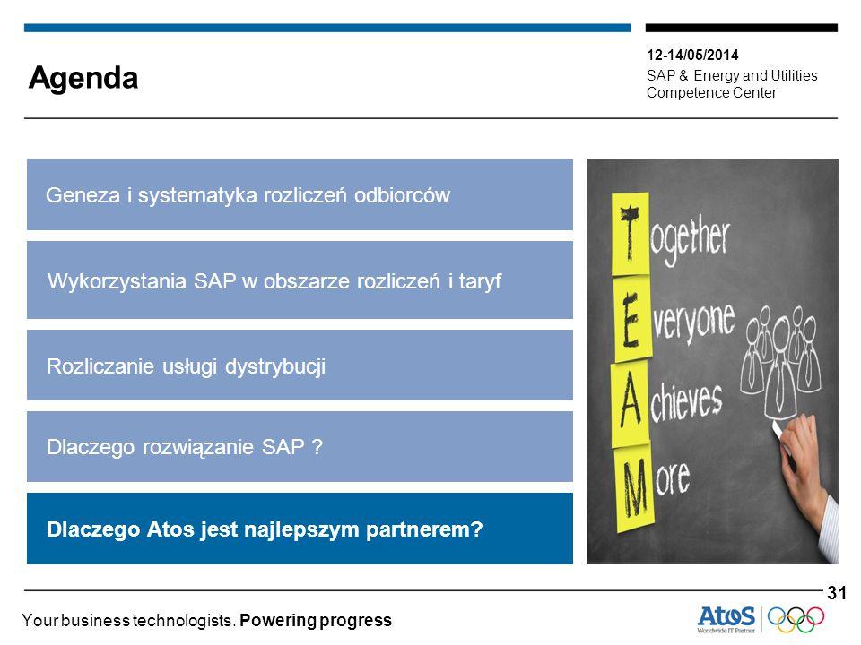 12-14/05/2014 SAP & Energy and Utilities Competence Center Your business technologists. Powering progress Dlaczego Atos jest najlepszym partnerem? Gen