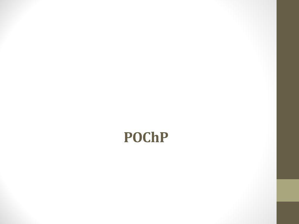 Stopnie zaawansowania obturacji w POChP