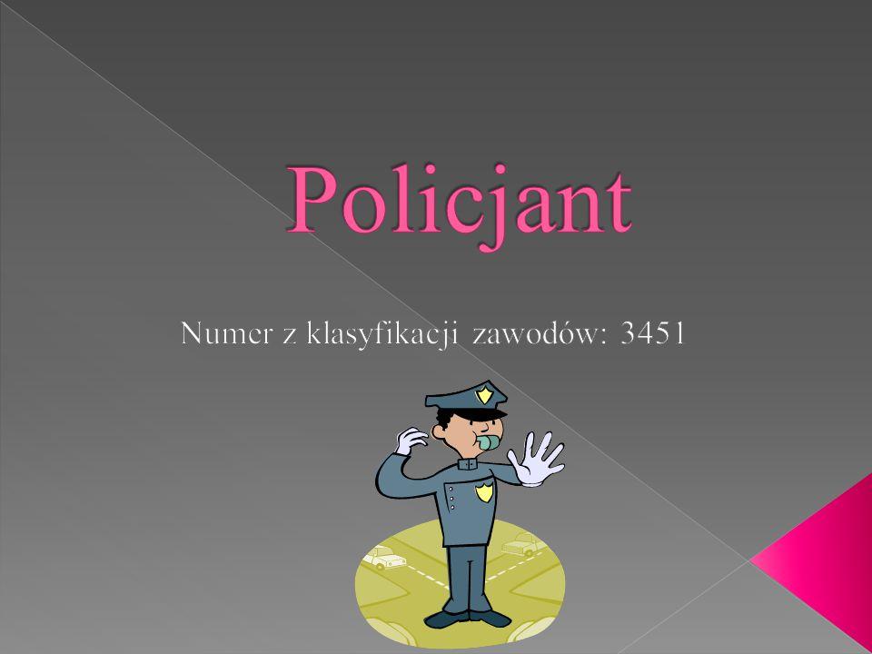  Policjant pracuje 8 godzin dziennie,  Większość funkcjonariuszy pracuje w systemie zmianowym z wyjątkiem specjalistów,  W wypadku niektórych pionów np.