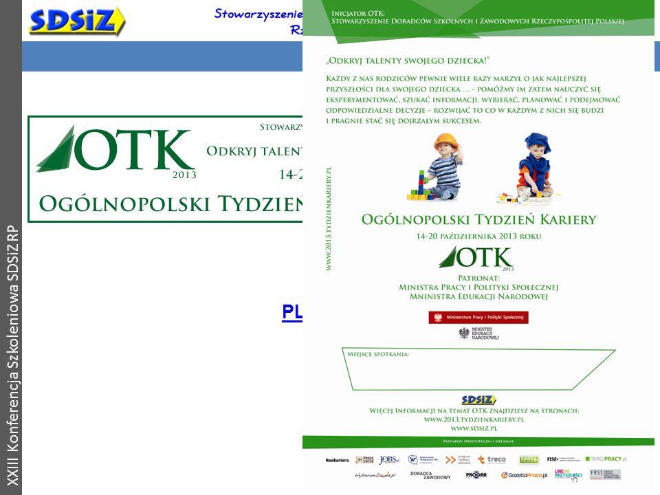 OTK 2013 XXIII Konferencja Szkoleniowa SDSiZ RP PLAKAT