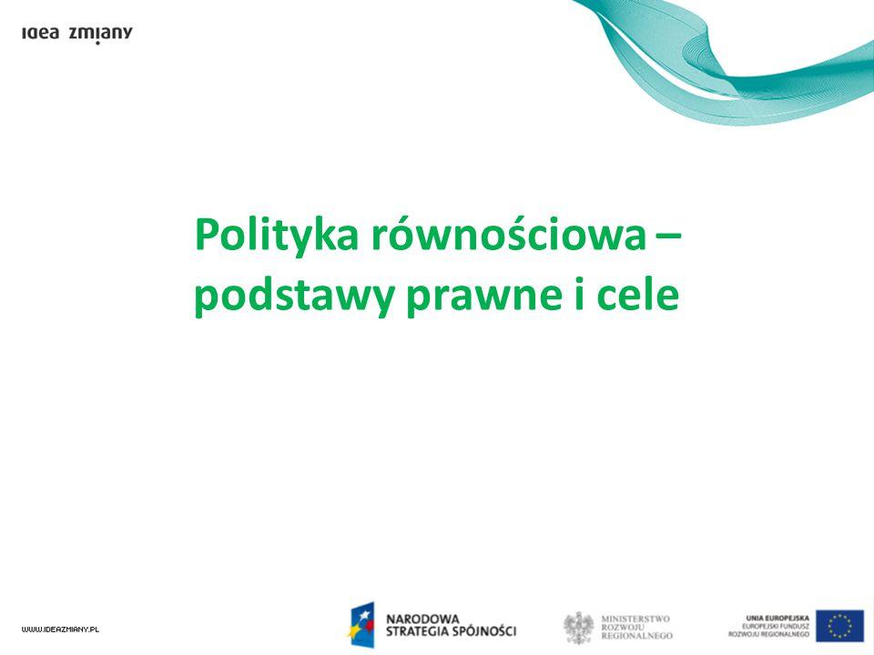 Ramy prawne Rozporządzenie Rady 1080/2006 Europejski Fundusz Rozwoju Regionalnego Wstęp, pkt.