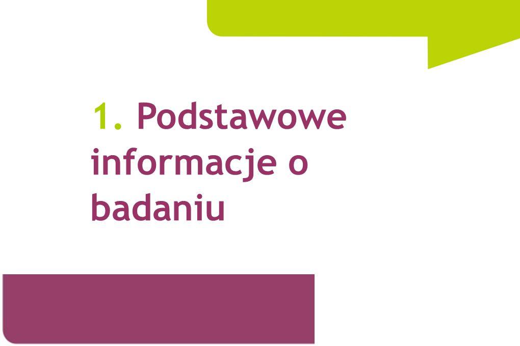 1. Podstawowe informacje o badaniu