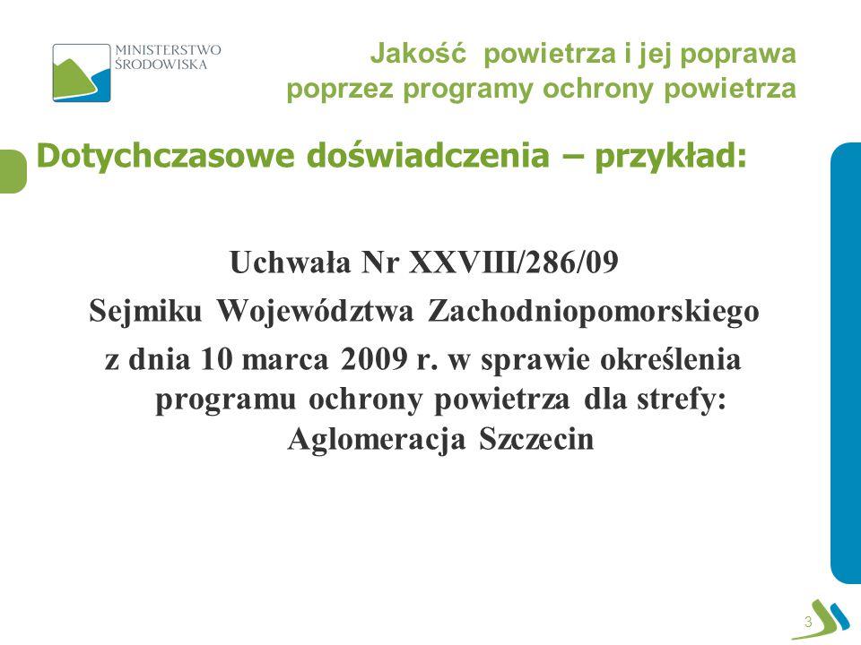 Jakość powietrza i jej poprawa poprzez programy ochrony powietrza POP dla Aglomeracji Szczecińskiej: 4